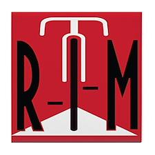 Retro Logo Tile Coaster