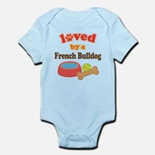 French Bulldog Pet Gift Infant Bodysuit