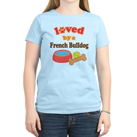 French Bulldog Pet Gift Women's Light T-Shirt