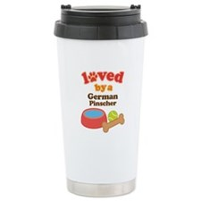 German Pinscher Dog Gift Travel Mug