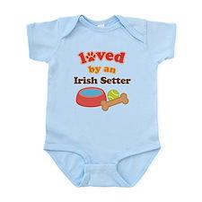 Irish Setter Dog Gift Infant Bodysuit