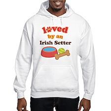 Irish Setter Dog Gift Hoodie