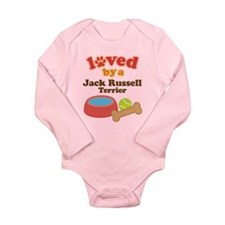 Jack Russell Terrier Dog Gift Long Sleeve Infant B