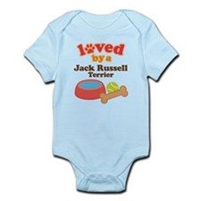 Jack Russell Terrier Dog Gift Infant Bodysuit