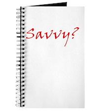 Savvy? Red Journal