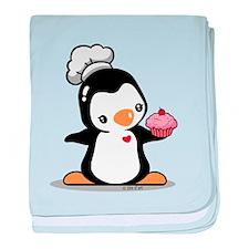 I like Cupcake baby blanket