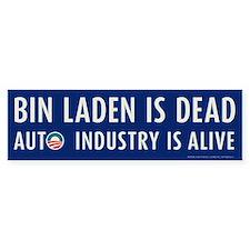Navy Bin Laden is Dead Bumper Sticker