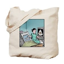 Bun in the Oven Ultrasound Tote Bag