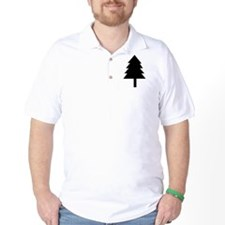 Pine Tree Icon T-Shirt