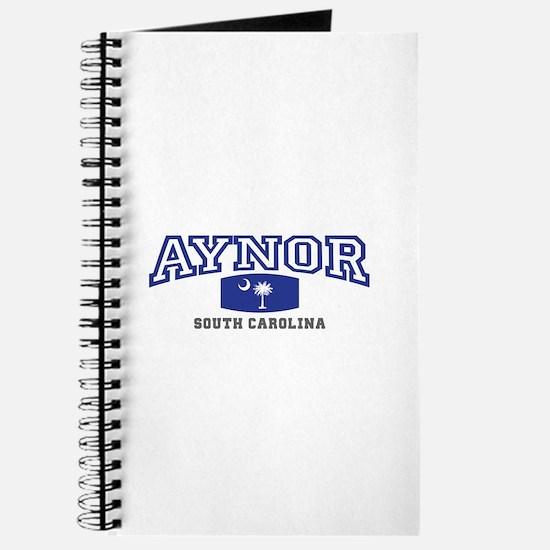Aynor South Carolina, SC, Palmetto State Flag Jour