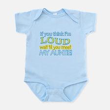 LOUD AUNTIE Infant Bodysuit