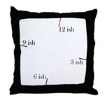 Fashionable late Throw Pillow