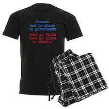 No Facts in Church Pajamas