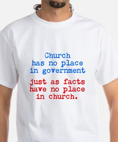 No Facts in Church Shirt
