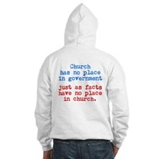 No Facts in Church Hoodie