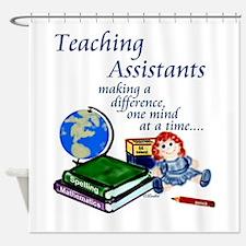Funny Headstart teachers Shower Curtain