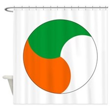 ireland_roundel.png Shower Curtain