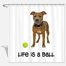 Pit Bull Life Shower Curtain