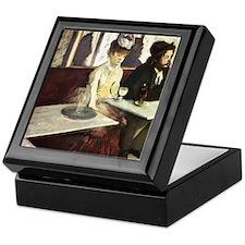 Edgar Degas Absinthe Keepsake Box