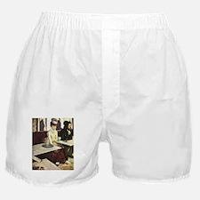 Edgar Degas Absinthe Boxer Shorts
