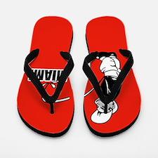Piss on Miami Flip Flop designs Flip Flops