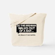 Irishman Tote Bag