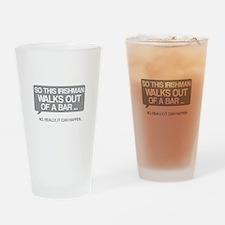 Irishman Drinking Glass