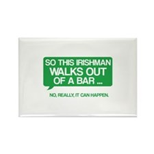 Irishman Rectangle Magnet