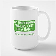 Irishman Large Mug