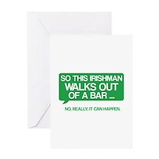 Irishman Greeting Card