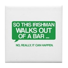 Irishman Tile Coaster