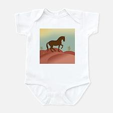 desert dressage Infant Creeper