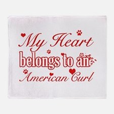 Cool American Curl Cat breed designs Stadium Blan
