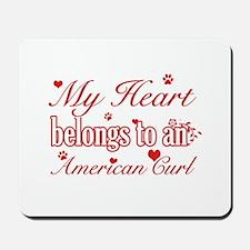 Cool American Curl Cat breed designs Mousepad