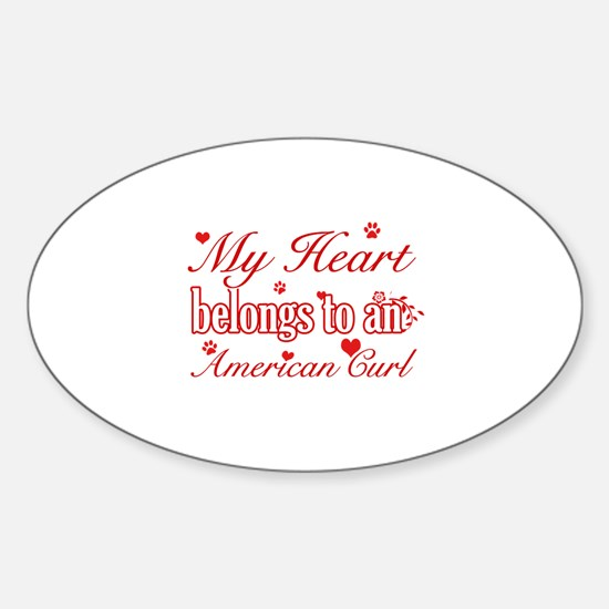 Cool American Curl Cat breed designs Decal
