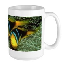 Colorful Tropical Fish Large Mug