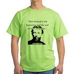Carl Menger - The Economy Green T-Shirt