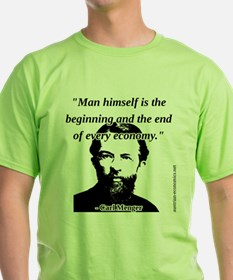 Carl Menger - The Economy T-Shirt