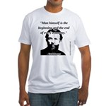 Carl Menger - The Economy Fitted T-Shirt
