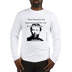 Carl Menger - The Economy Long Sleeve T-Shirt