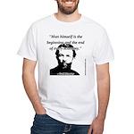 Carl Menger - The Economy White T-Shirt