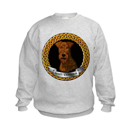 IRISH TERRIER DOG BREED Kids Sweatshirt