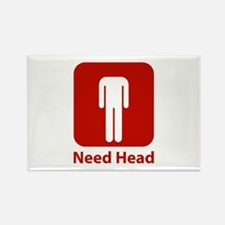 Need Head Rectangle Magnet (100 pack)