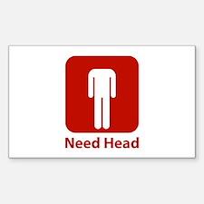 Need Head Stickers