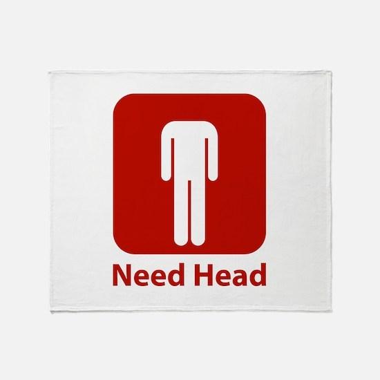 Need Head Throw Blanket