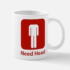 Need Head Mug