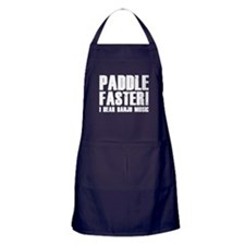 Paddle Faster ! Apron (dark)