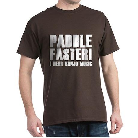 Paddle Faster ! Dark T-Shirt