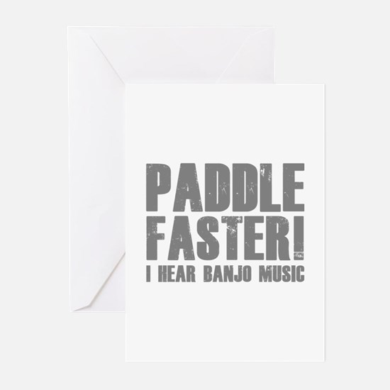 Paddle Faster ! Greeting Cards (Pk of 20)