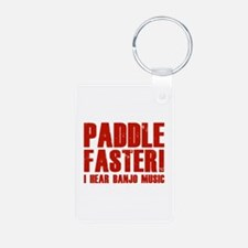 Paddle Faster ! Keychains